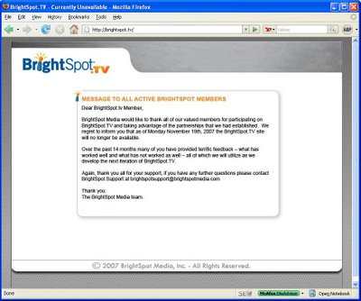BrightSpot.TV Sleeps With the Fishes
