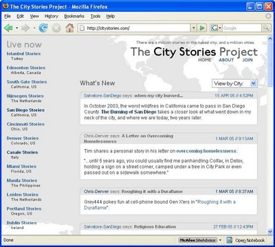 CityStories.Com Tells Its Last Story