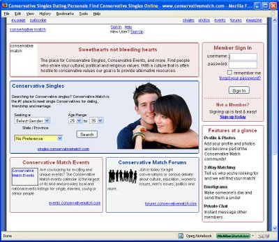 Fate of ConservativeMatch.com Is Cautionary Tale For Online Dating Sites