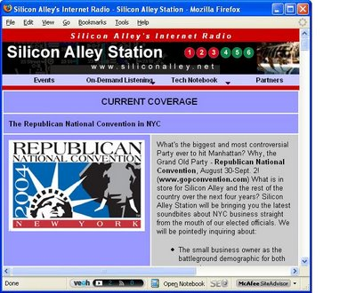 Silicon Alley Station Has Not Been Updated in Almost Three Years