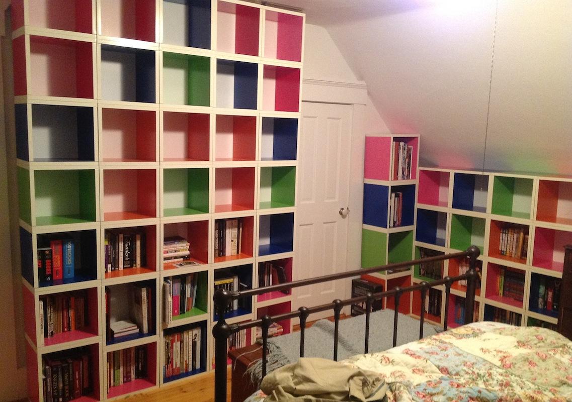 bedroom ceiling storage