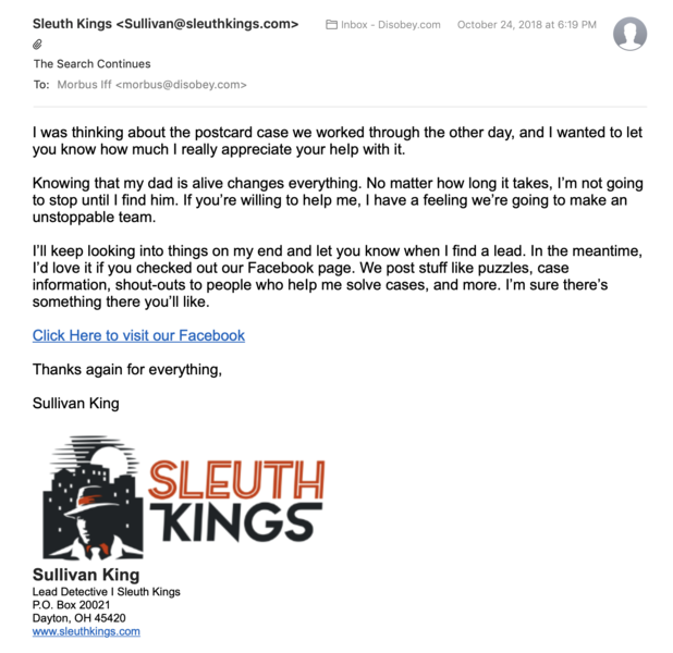 File:Sleuth Kings-Strange Postcard Case-Email-The Search Continues.png